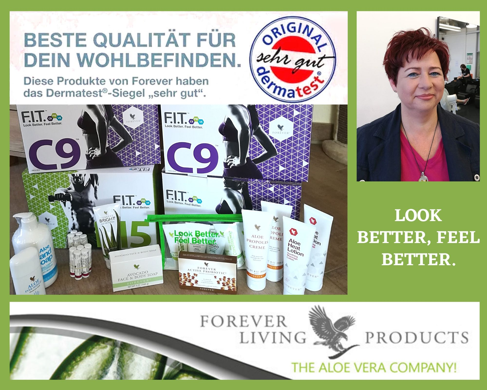 Forever Living Products - The Aloe Vera Company - Vertriebspartner &-Berater Svenja Lucia Braune